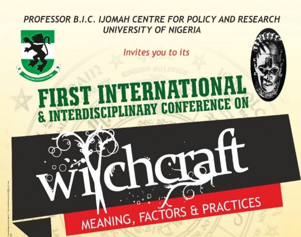 Conference Announcement THEME: WITCHCRAFT
